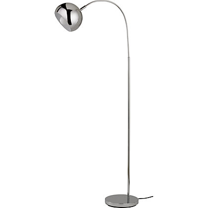 Ball floor lamp chrome for Homebase chandelier floor lamp