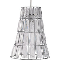 Issy Crystal Easy Fit Pendant - Clear