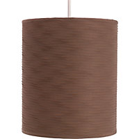 Ribbed Luxe Shade - Chocolate