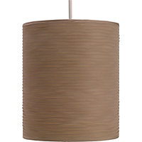 Ribbed Luxe Shade - Natural