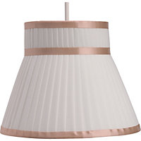 Ribbon Tie Shade - Cream