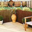 Willow Slat Screen - 4 x 1m