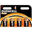 Duracell Plus C Batteries - 4 Pack