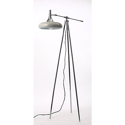 Image for Metal Head Tripod Floor Lamp from StoreName