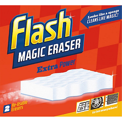 Image for Flash Magic Eraser Extra Power - Pack of 2 from StoreName