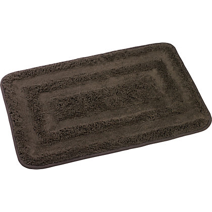 Image for Rubber Backed Bath Mat - Pebble from StoreName