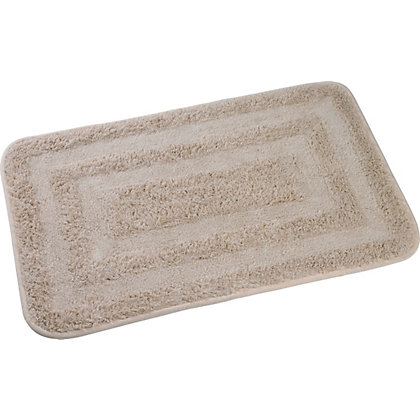 Image for Rubber Backed Bath Mat - Cream from StoreName