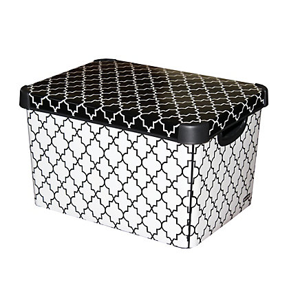 Image for Curver Moroccan Deco Storage Box from StoreName