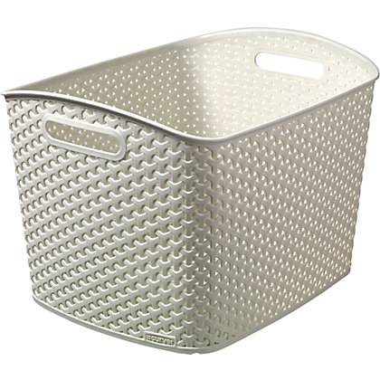 Image for Curver My Style Xtra Large Storage Basket - Cream from StoreName