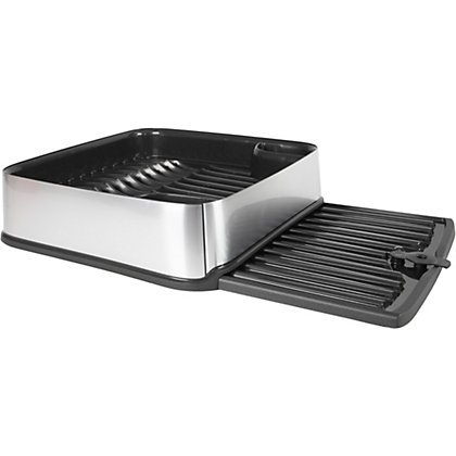 Image for Curver Urban Square Dish Drainer - Silver from StoreName