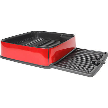 Image for Curver Urban Square Dish Drainer - Red from StoreName