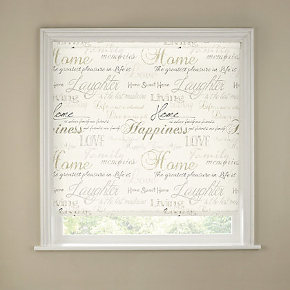 Image for Script Roller Blind - 90cm from StoreName
