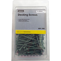 Decking Screw - 4 x 63mm - Pack of 200