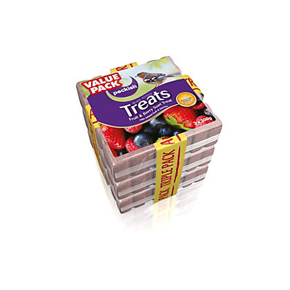 Image for Peckish Square Fruit Suet Treats - Triple Pack from StoreName
