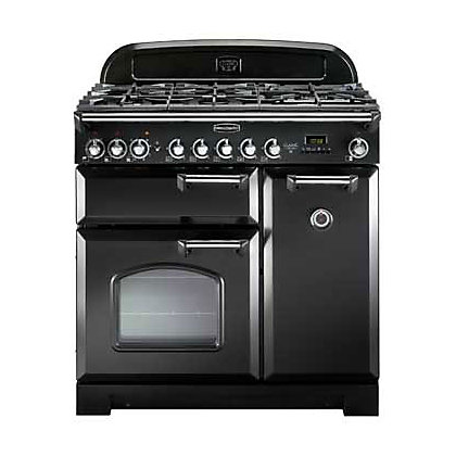 Image for Rangemaster Classic Deluxe 80930 90cm Dual Fuel Cooker - Black from StoreName