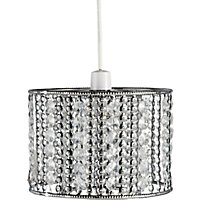 Moroccan Easy Fit Pendant - Chrome Double Layer