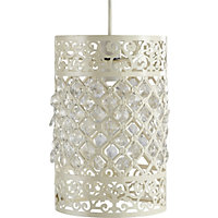 Easy Fit Pendant - Lace Effect Barrel