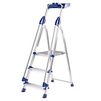 Werner 3 Tread Workstation Stepladder