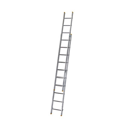 Image for Werner Double Box Section Extension Ladder 2.97m from StoreName