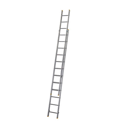 Image for Werner Double Box Section Extension Ladder 3.53m from StoreName