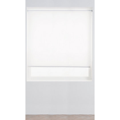 Image for White Roller Blind - 120cm from StoreName