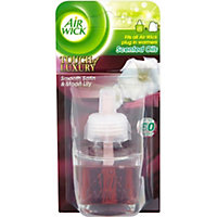 Air Wick Plug In Refill Scented Oils Touch Of Luxury Smooth Satin And Moon Lily