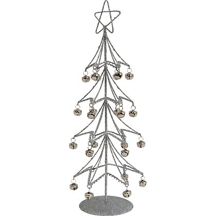 Silver Tree With Bells At Homebase Be Inspired And Make