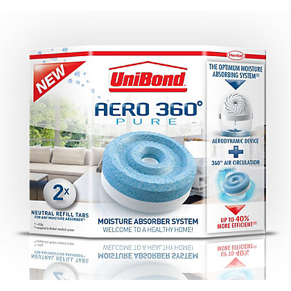 Image for UniBond Aero 360 Moisture Absorber Refills from StoreName