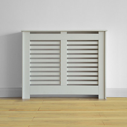 Image for Virginia Radiator Cabinet - Smooth White - (W)100.6 x (H)83.8 x (D)20.3cm from StoreName