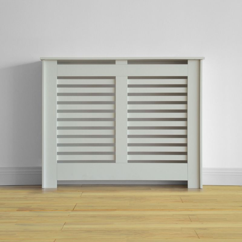 virginia radiator cabinet smooth white w1006 x h838 x d203cm. Black Bedroom Furniture Sets. Home Design Ideas