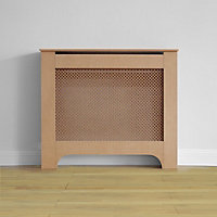 Richmond Radiator Cabinet Unfinished MDF - (W)100 x (H)85 x (D)20cm