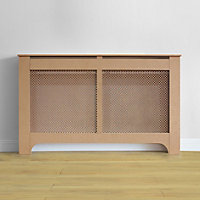 Richmond Radiator Cabinet Unfinished MDF - (W)150 x (H)90 x (D)20cm