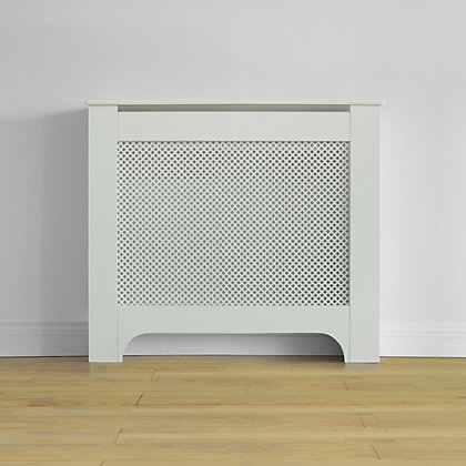 Image for Richmond Radiator Cabinet - Smooth White - (W)100 x (H)85 x (D)20cm from StoreName