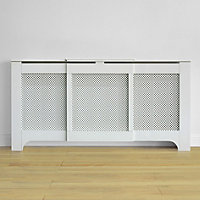 Radiator Covers Amp Cabinets White Oak And Mdf At Homebase