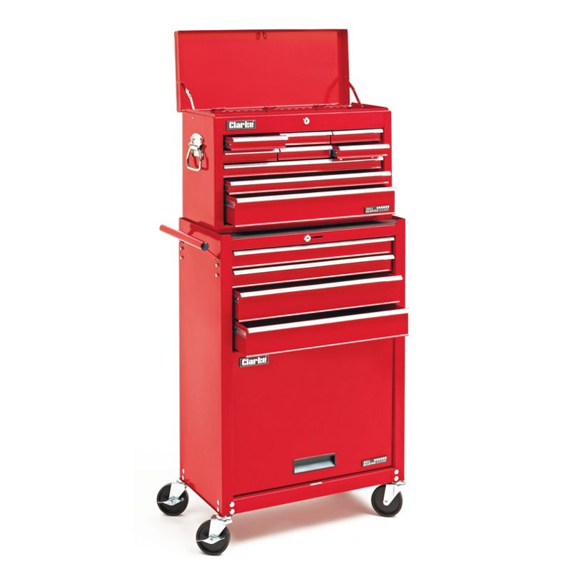 Sale On Clarke Ctc1300b 13 Drawer Tool Chest And Cabinet