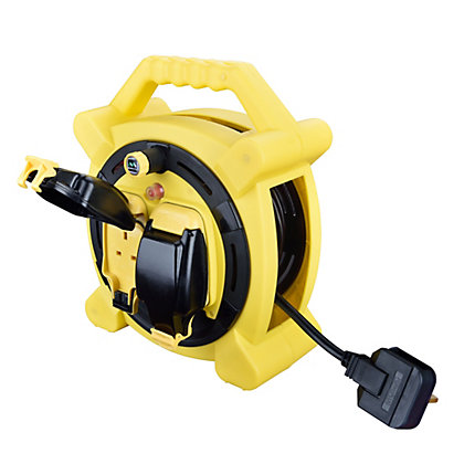 Image for Masterplug 15m 10A Case Reel with 2 x IP Sockets from StoreName