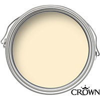 Crown Breatheasy Solo Honey Cream - One Coat Matt Emulsion Paint - 40ml Tester