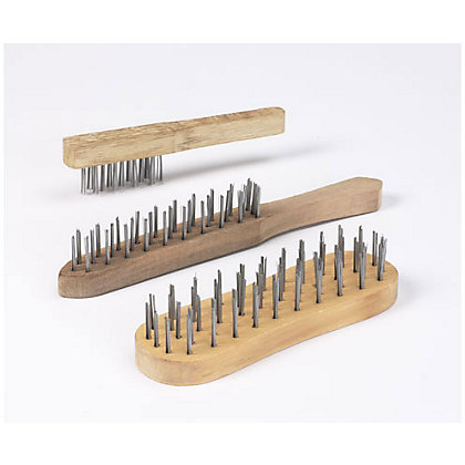 Image for Homebase Value Wire Brushes 3 pack from StoreName