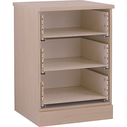 Image for Hygena 3 Drawer Narrow Chest - Oak from StoreName