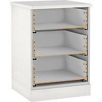 Hygena 3 Drawer Narrow Chest - White