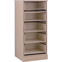 Hygena 5 Drawer Narrow Chest - Oak