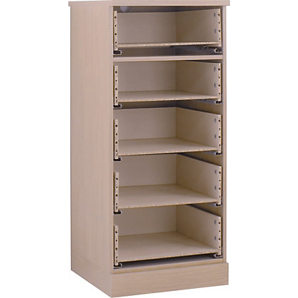 Image for Hygena 5 Drawer Narrow Chest - Oak from StoreName