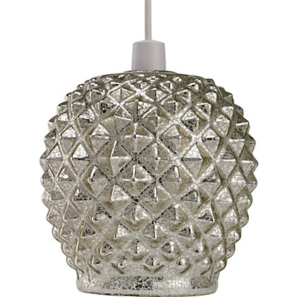 Image for Lucine Metallic Spike Easy Fit Lamp Shade from StoreName