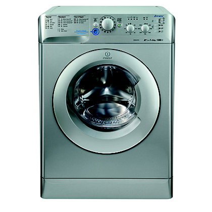 Image for Indesit Innex XWSC 61252 S Washing Machine - Silver from StoreName