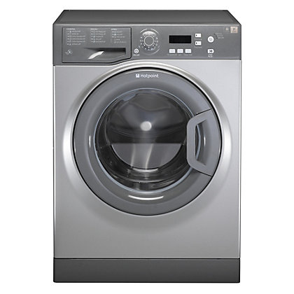 Image for Hotpoint Aquarius WMAQF 641G Washing Machine - Graphite from StoreName