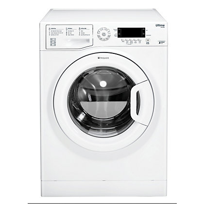 Image for Hotpoint Ultima S-Line SWMD 9437 Washing Machine - White from StoreName