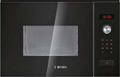 Bosch HMT84M654B Compact Microwave Oven with Grill- Brushed Stainless Steel.
