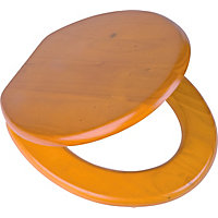 Value Antique Pine Toilet Seat