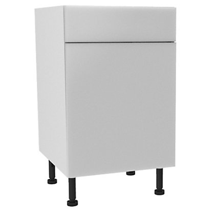 Image for Simply Hygena Chancery - Gloss White - 500mm Standard Drawer Line Base Unit from StoreName