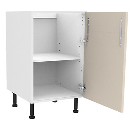 Image for Simply Hygena Chancery - Gloss Cream - 500mm Dummy Drawer Line Base Unit from StoreName